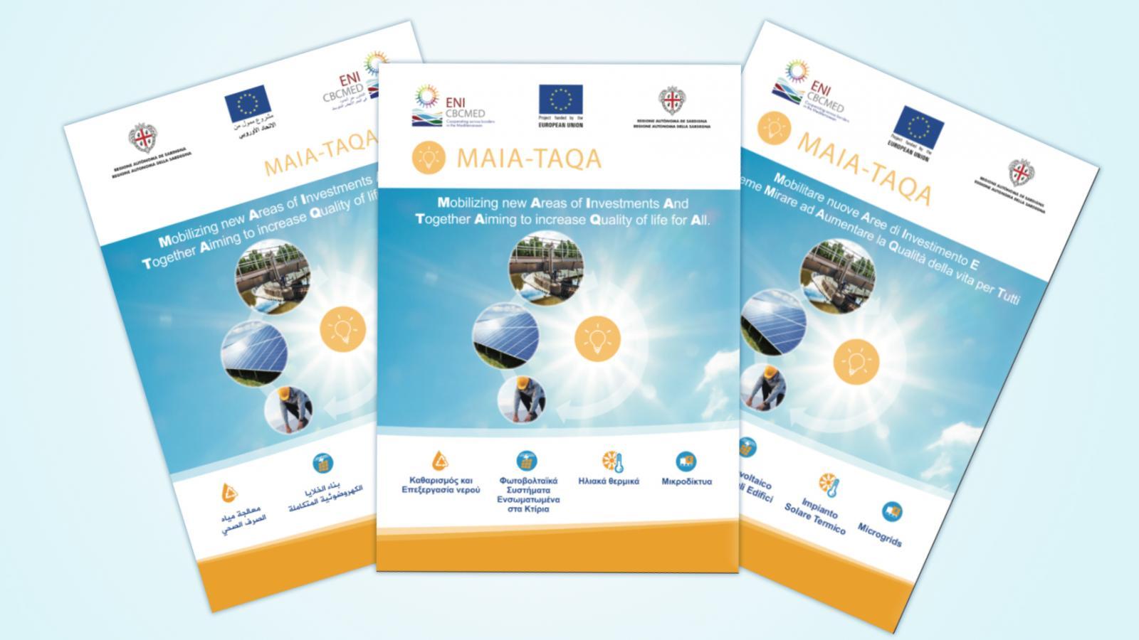 Design Per Tutti Com la brochure du projet maia-taqa est désormais disponible en